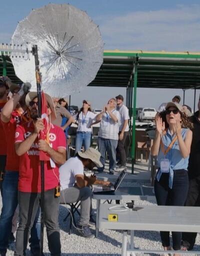 Tuz Gölü'nde roket yarışması
