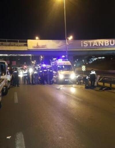 Şirinevler'de 5 araç birbirine girdi: 1 ölü, 3 yaralı