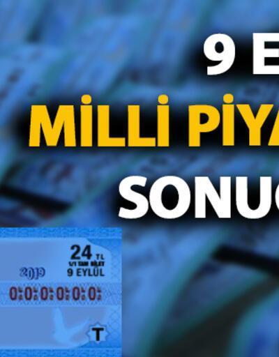 9 Eylül 2019 Milli Piyango çekiliş sonuçları sorgulama mpi.gov.tr'de olacak