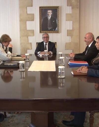 KKTC Cumhurbaşkanı Akıncı, BM temsilcisi Lute ile görüştü