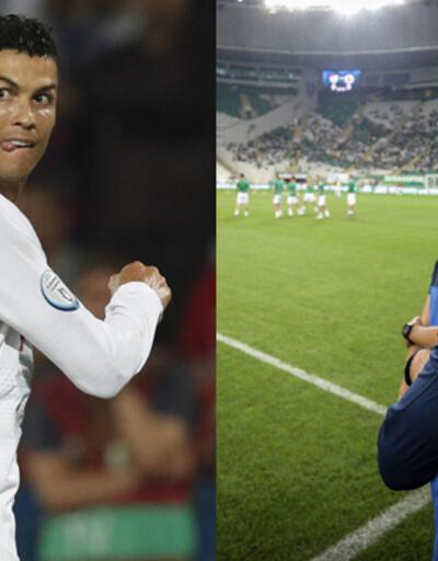 Ronaldo'ya Volkan Demirel engeli