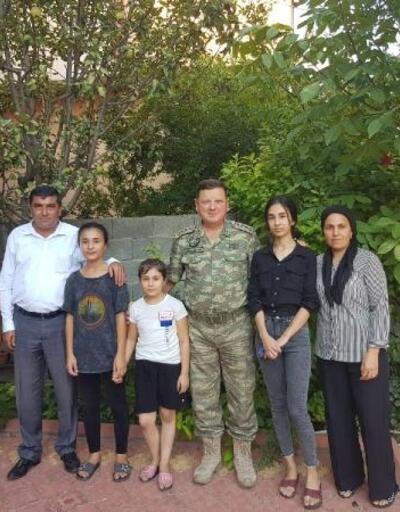 Albay Sancaktar'dan şehit ailelerine ziyaretler