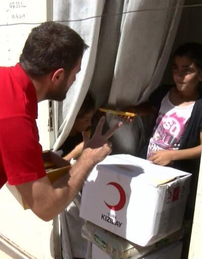 Kızılay'dan İdlib'e yardım eli
