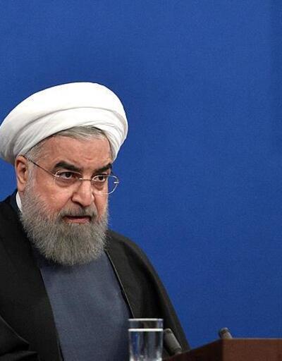 Ruhani: Yaptırımlar devam ederse görüşmenin anlamı olmaz