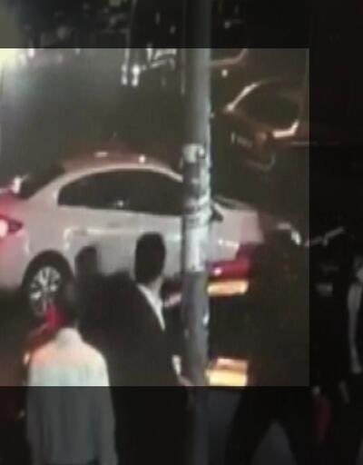 Esenyurt'ta feci kaza güvenlik kamerasında