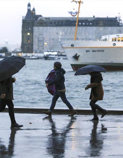 Yağmur başladı! İstanbul hava durumu: Yağmur ne zaman duracak?