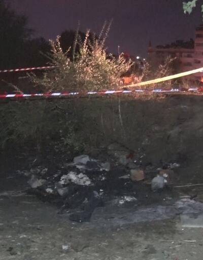 Gaziosmanpaşa'da yanan çadırda erkek cesedi bulundu