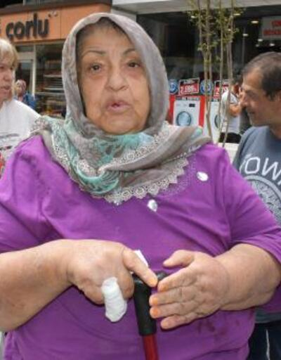 Yaşlı kadının ellerini ve ağzını bantlayıp, altın ve parayı gasbettiler