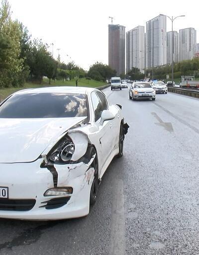 İstanbul'da zincirleme trafik kazası: 9 araç birbirine girdi