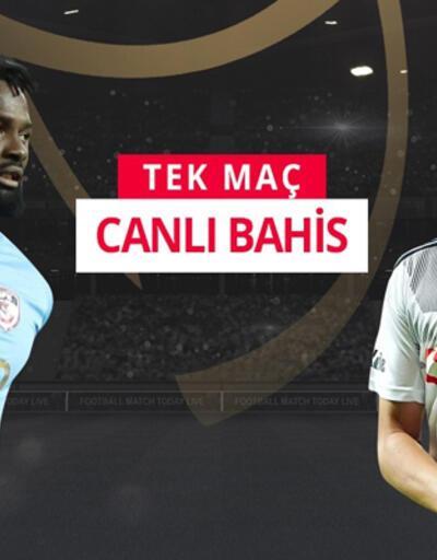 Gazişehir FK - Beşiktaş maçına misli.com'da canlı oyna!