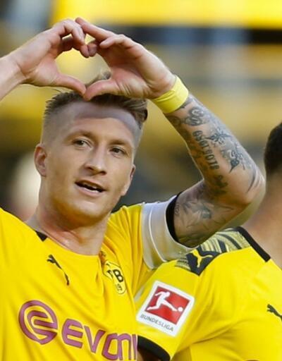 Borussia Dortmund'dan Leverkusen'e 4 gol