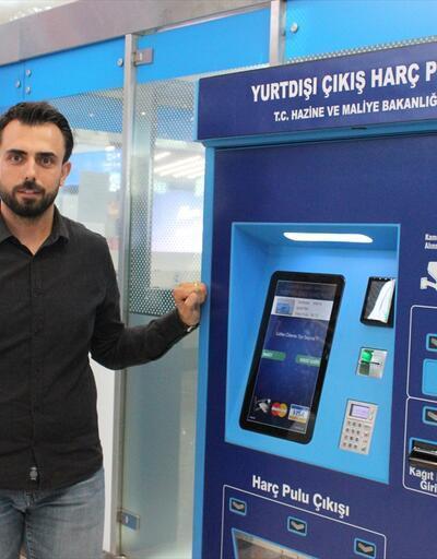 İstanbul Havalimanı'na harç pulu otomatı eklendi