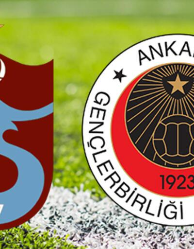 Trabzonspor Gençlerbirliği'ni konuk ediyor! TS Gençlerbirliği maçı saat kaçta?