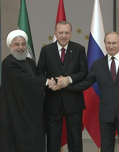 Çankaya Köşkü'nde Türkiye-Rusya-İran zirvesi