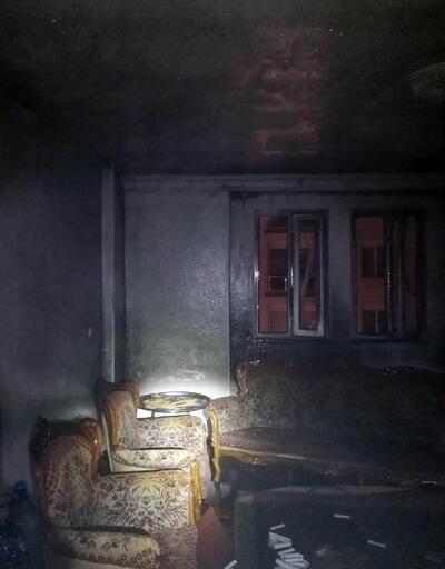 Demre'de ev yangını