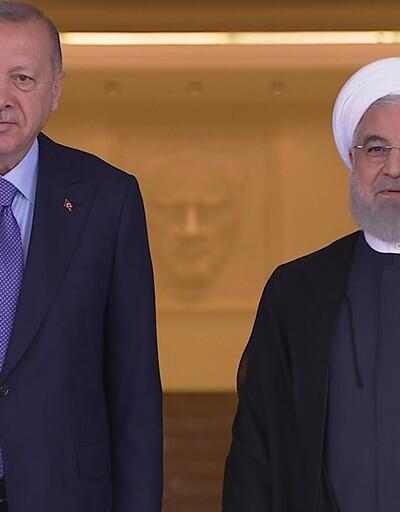 Son dakika... Çankaya'da Suriye zirvesi: Erdoğan Ruhani ile görüşüyor