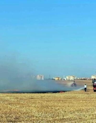Lüleburgaz'da çöp toplama alanında yangın