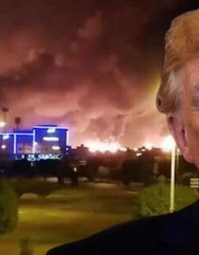 Saldırının arkasında İran mı var? Trump'tan açıklama geldi