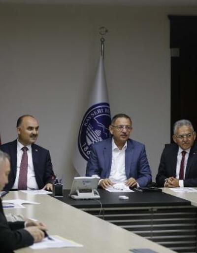 'Kayserispor' zirvesi gerçekleştirildi