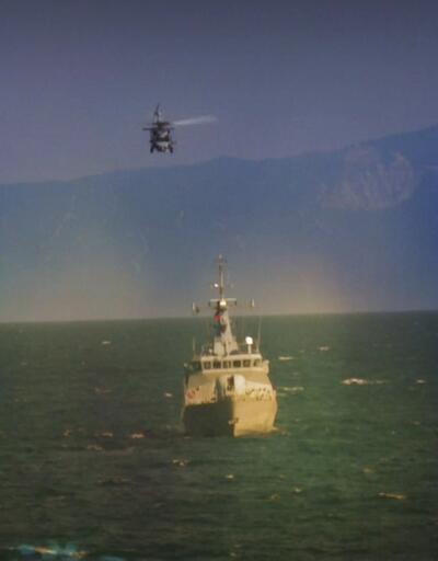 Helikopterde savaş eğitimi!