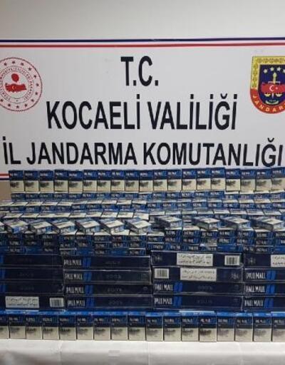 Gebze'de kaçak sigara operasyonu