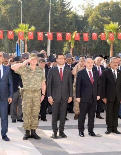 Osmaniye'de Gaziler Günü kutlandı