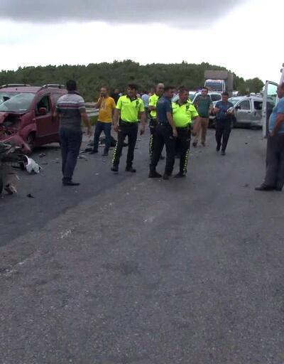 Kuzey Marmara Otoyolu'nda ölümlü kaza