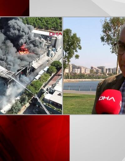 Tuzla'daki yangını değerlendirdi: Çok tehlikeli kimyasallardı