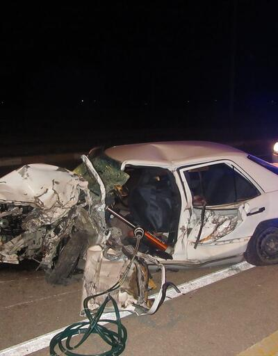 Afyonkarahisar'da kaza: 1 ölü, 2 yaralı