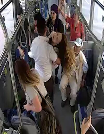 Bayılan yolcuyu şoför hastaneye yetiştirdi