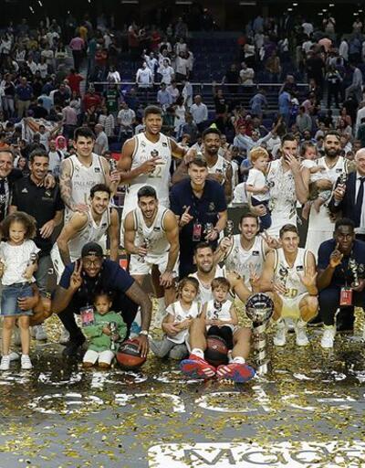 İspanya basketbolunda Süper Kupa'nın sahibi Real Madrid