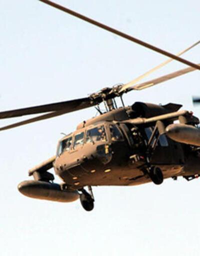 Akçakale'de askeri hareketlilik! ABD'ye ait 2 helikopter geldi