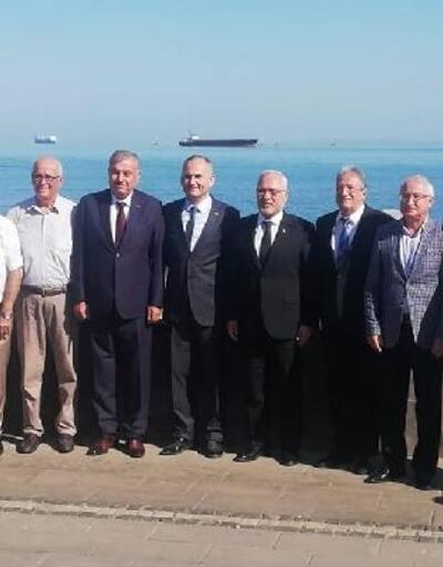 Tosyalı, Esnaf Oda Başkanları ile buluştu