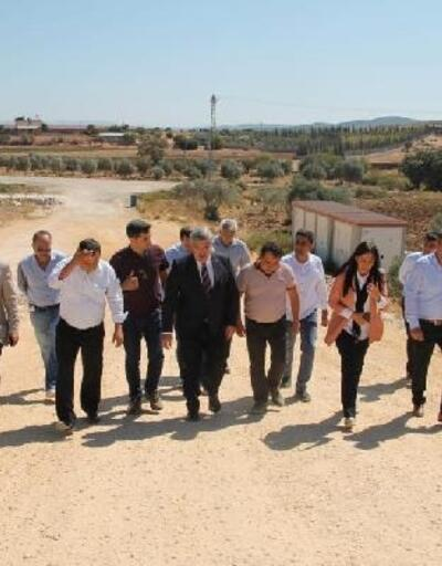 Hataylı vekillerden Yayladağı-Antakya kara yolunda inceleme