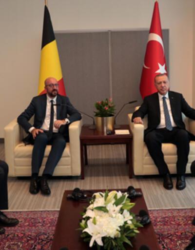Cumhurbaşkanı Erdoğan, Belçika Başbakanı Michael ile görüştü