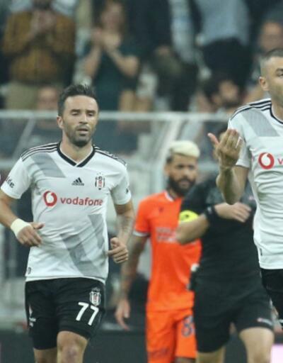 Beşiktaş 1-1 Başakşehir MAÇ ÖZETİ