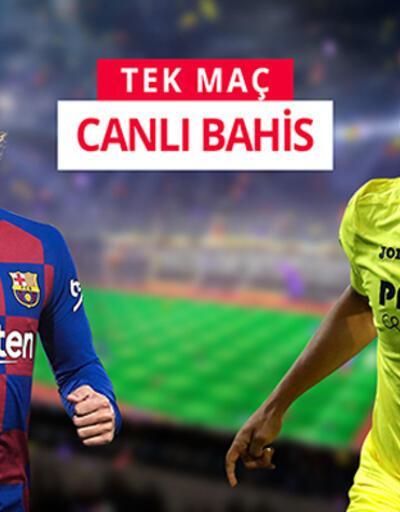 Barcelona-Villarreal maçına misli.com'da CANLI OYNA!