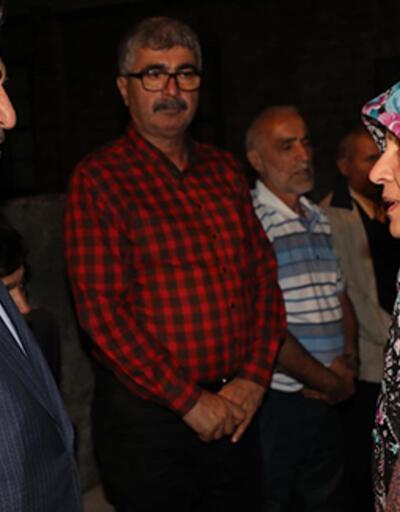 AK Partili Hayati Yazıcı, Neslican Tay'ın ailesini ziyaret etti