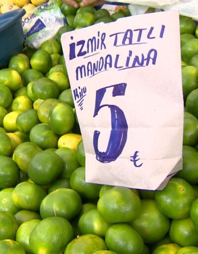 Kış meyveleri pazar tezgahlarına çıktı