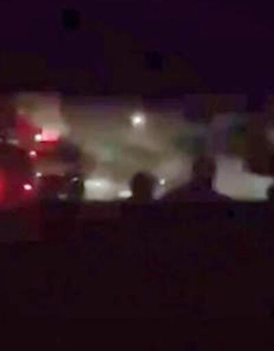 Rusya'da iniş takımı alev alan uçakta 12 yolcu yaralandı