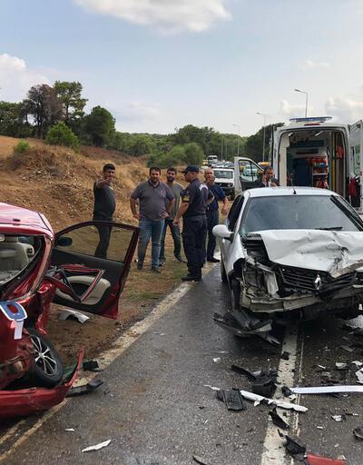 Manavgat'ta yağmur kazası: 4 yaralı