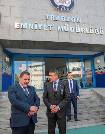 Trabzon Emniyet Müdürlüğü'nde devir teslim
