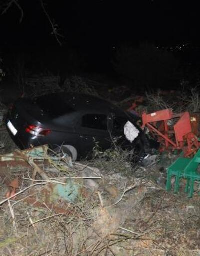 Tekirdağ'da kaza: 1 yaralı