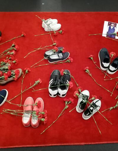 """""""Sessiz Ayakkabılar Yürüyüşü"""" gerçekleştirildi"""