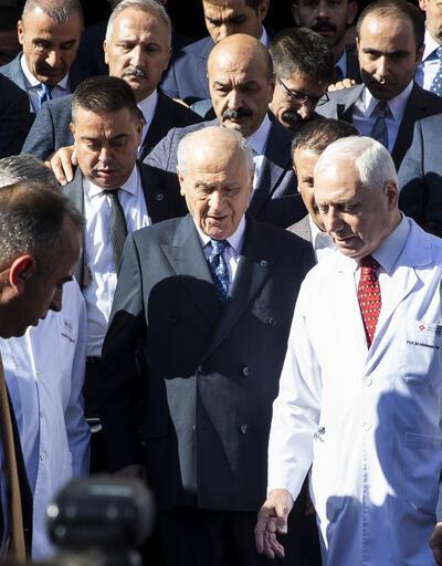Bahçeli'nin sağlık durumu ile ilgili MHP'den açıklama