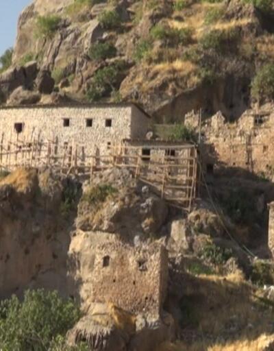 400 yıllık taş evler butik otele dönüştürülüyor