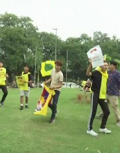 Tibetliler'den Çin protestosu