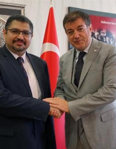 Sudan Büyükelçisi, Rektör Ayrancı'yı ziyaret etti