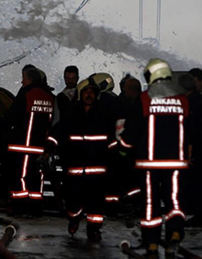 Son dakika... Ankara'da metal boru fabrikasında yangın