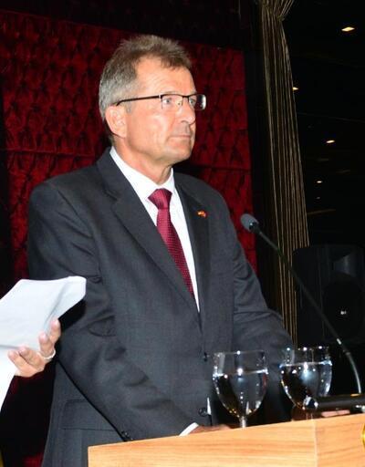 İzmir'de Alman Birliği Günü kutlaması